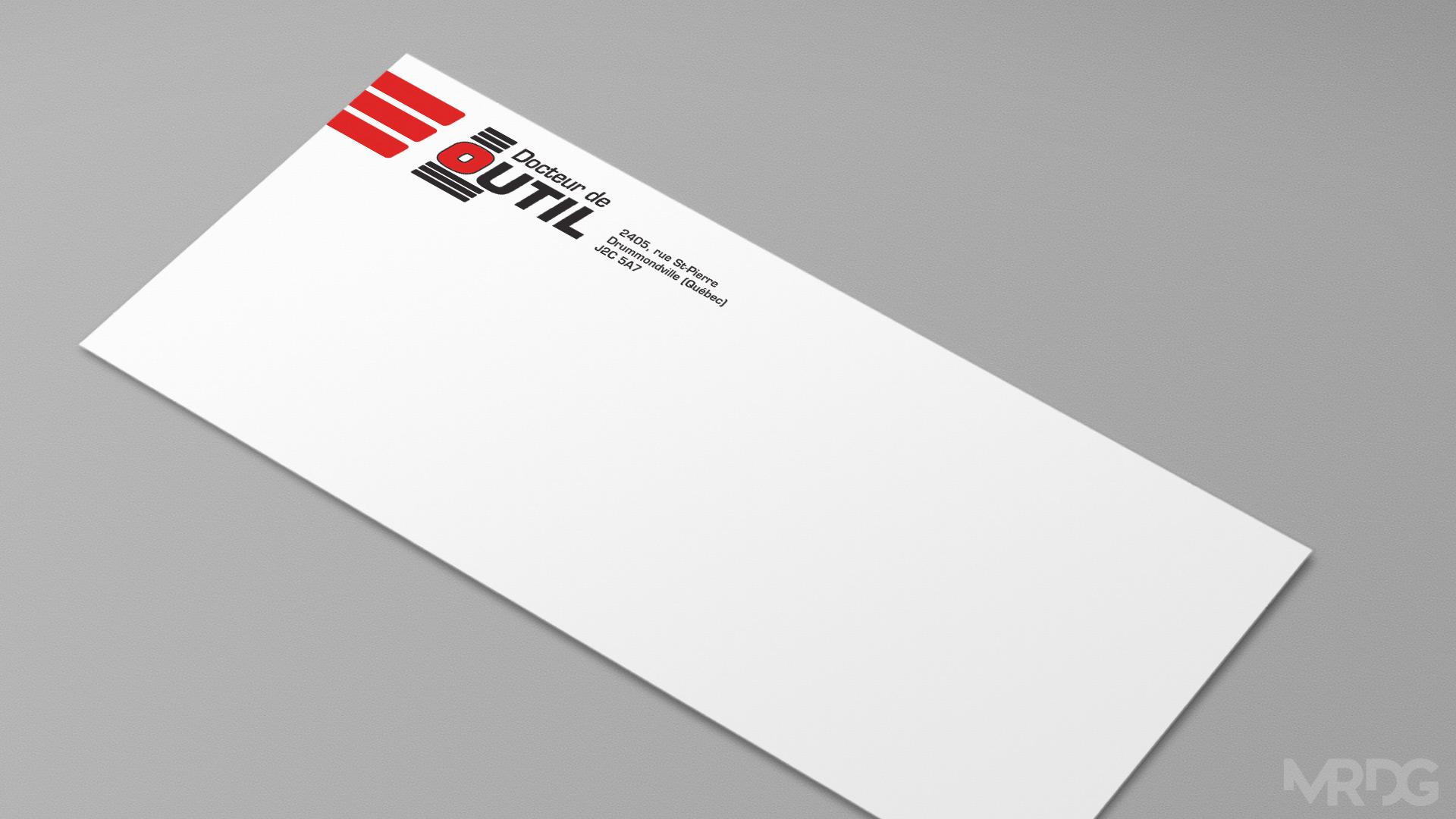 Enveloppe docteur de l 39 outil mrdg for Papeterie drummondville
